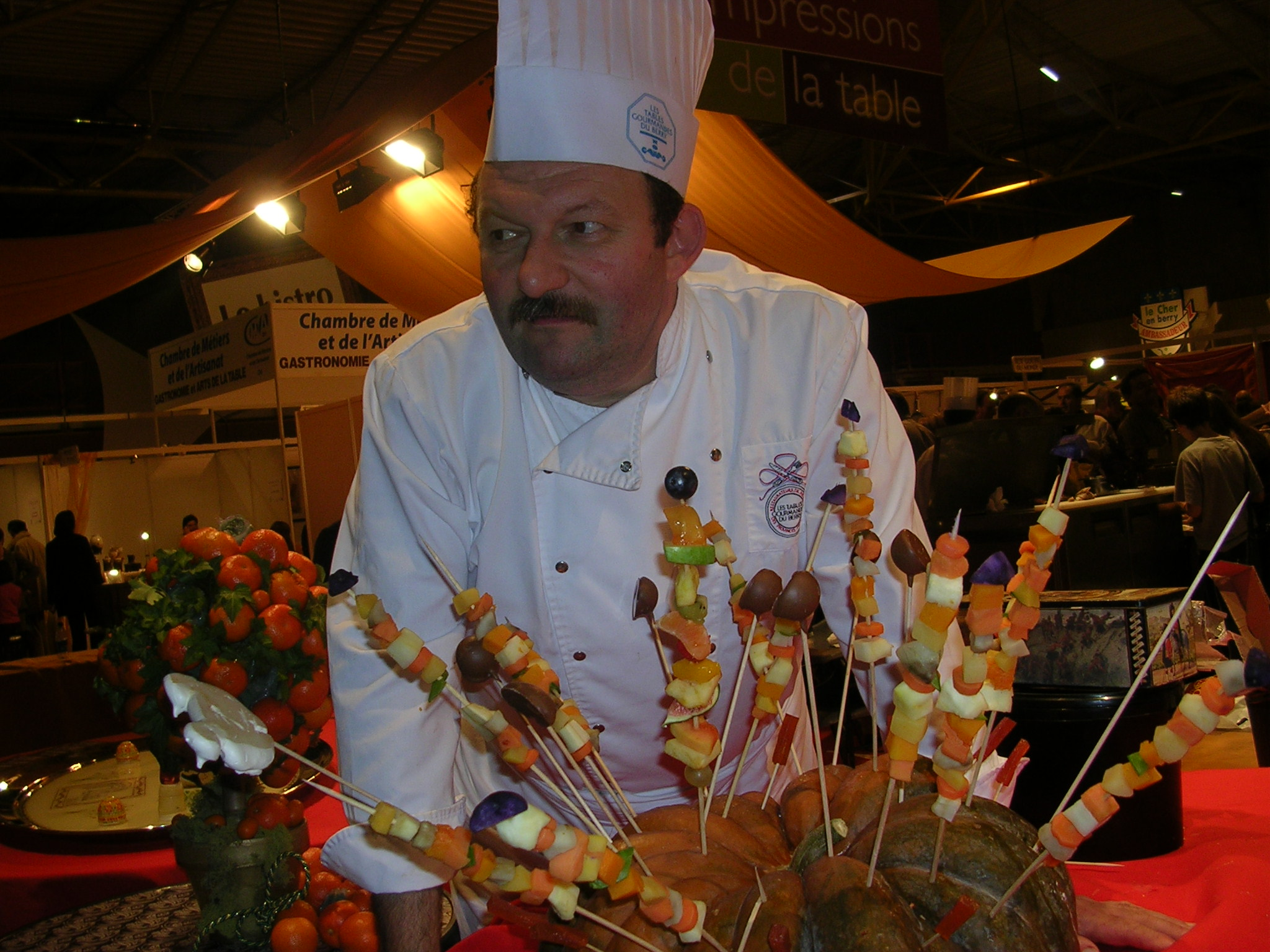 Animations le salon des vins et de la gastronomie for Jardin gourmand bourges